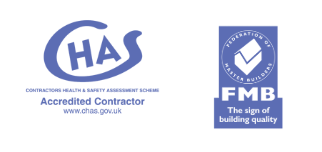 Feltfab builders roofers Newport South Wales accreditation logos 1
